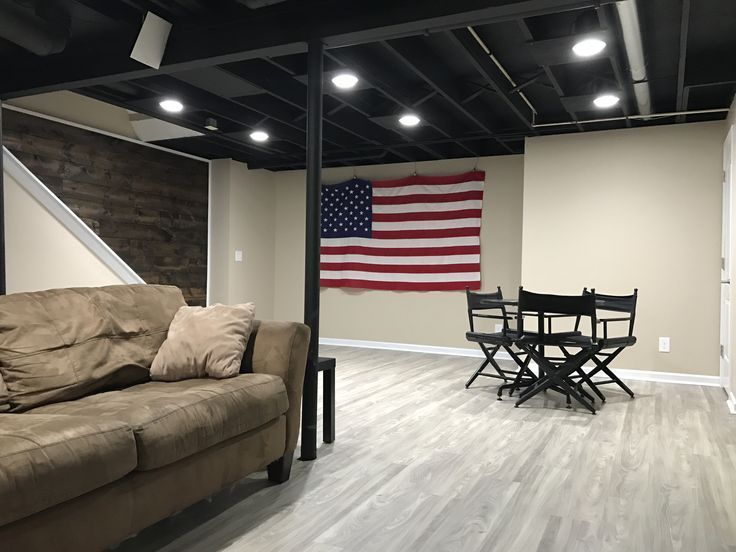 Image Result For Lighting For Unfinished Basement Ceiling