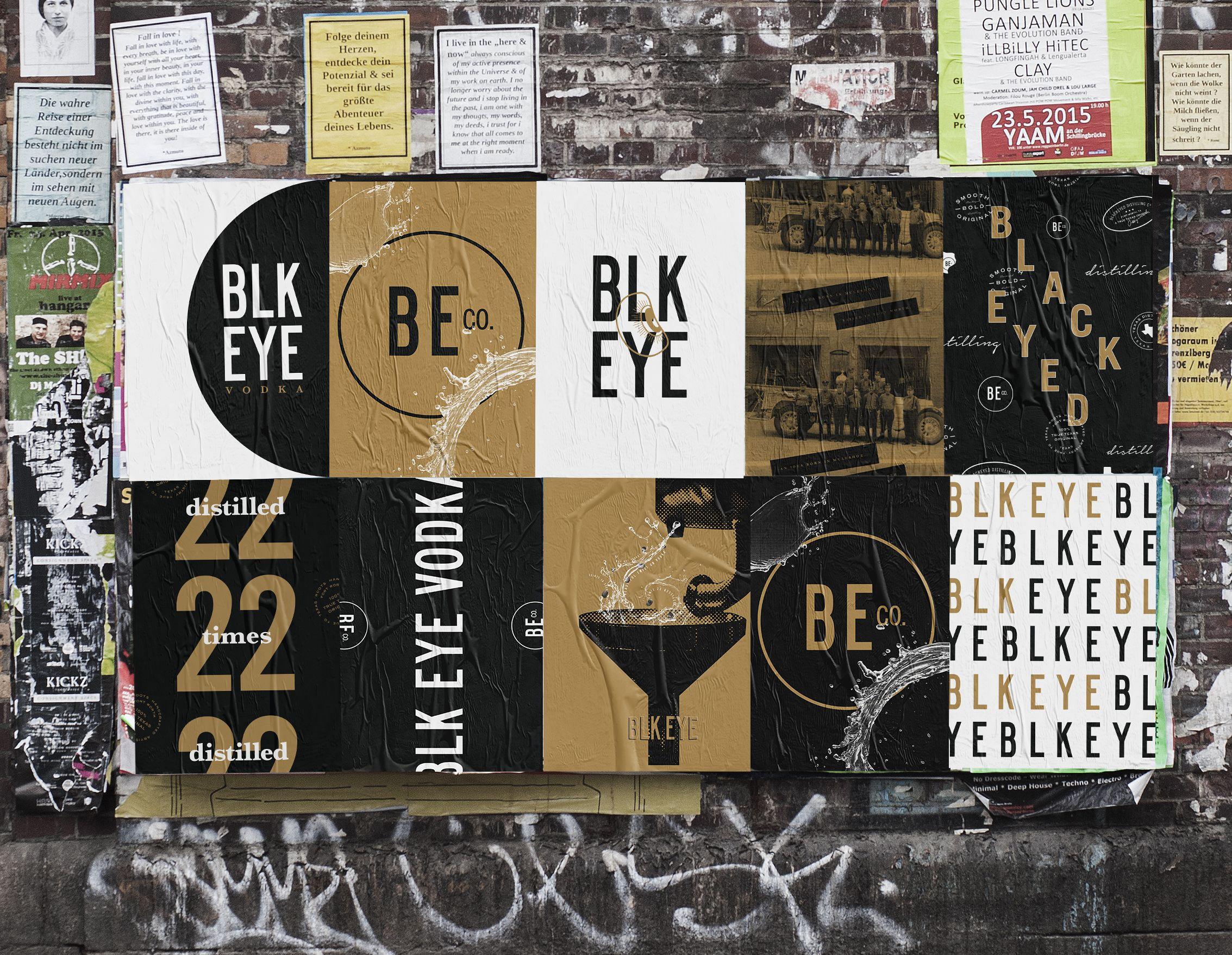 Blk Eye Urban Mockup Large Poster Design Typography Poster Poster Mockup