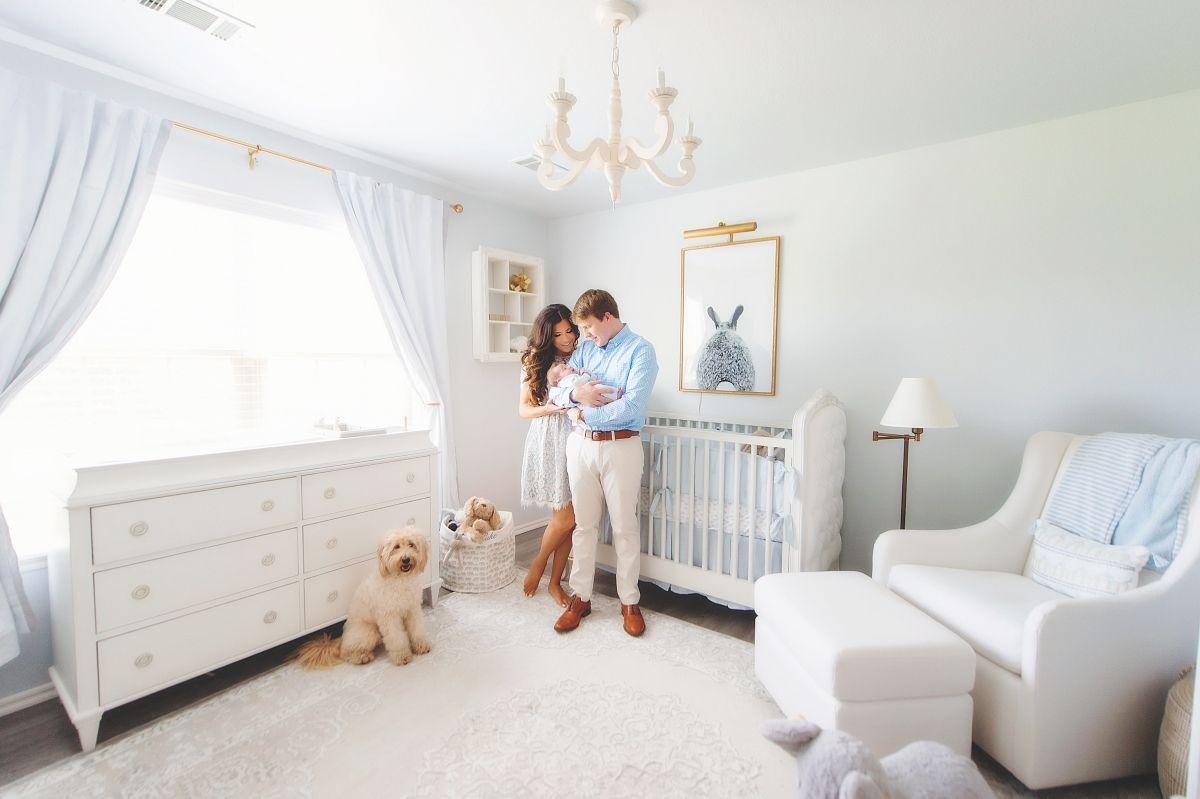 Luke S Newborn Photos And Nursery Reveal Baby Boy Room Nursery