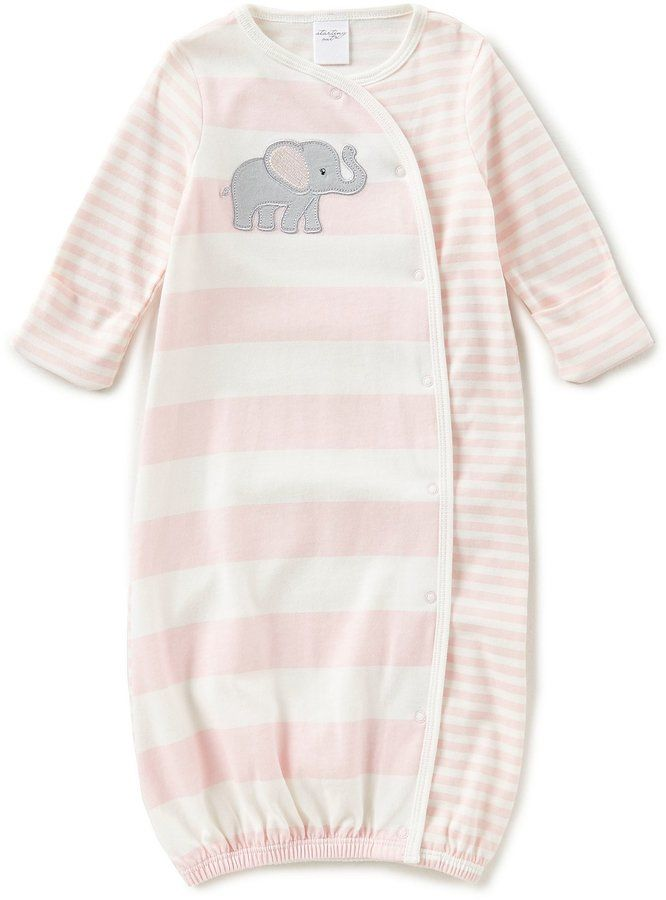 1ad114ee8341 Starting Out Baby Girls Newborn-6 Months Elephant Gown