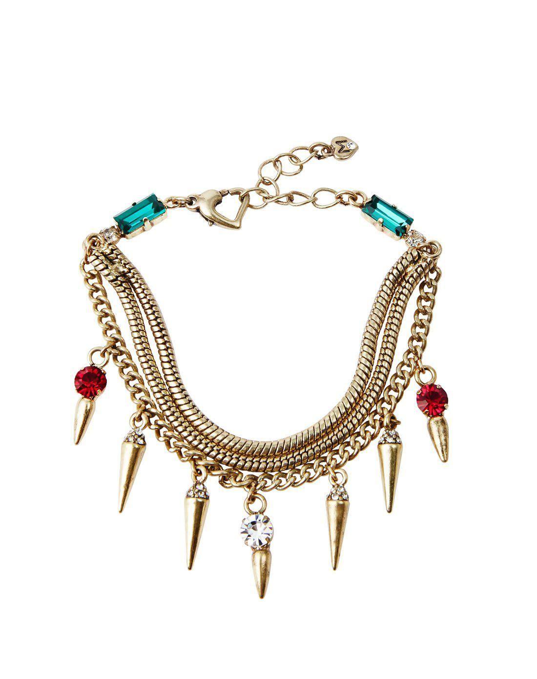 Vipme vipshop global martine wester gold bracelet adorewe