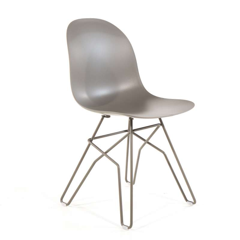 Chaise Design En Polypropylene Et Metal 1664 Academy Connubia C Chaise Design Mobilier De Salle A Manger Chaise Metal