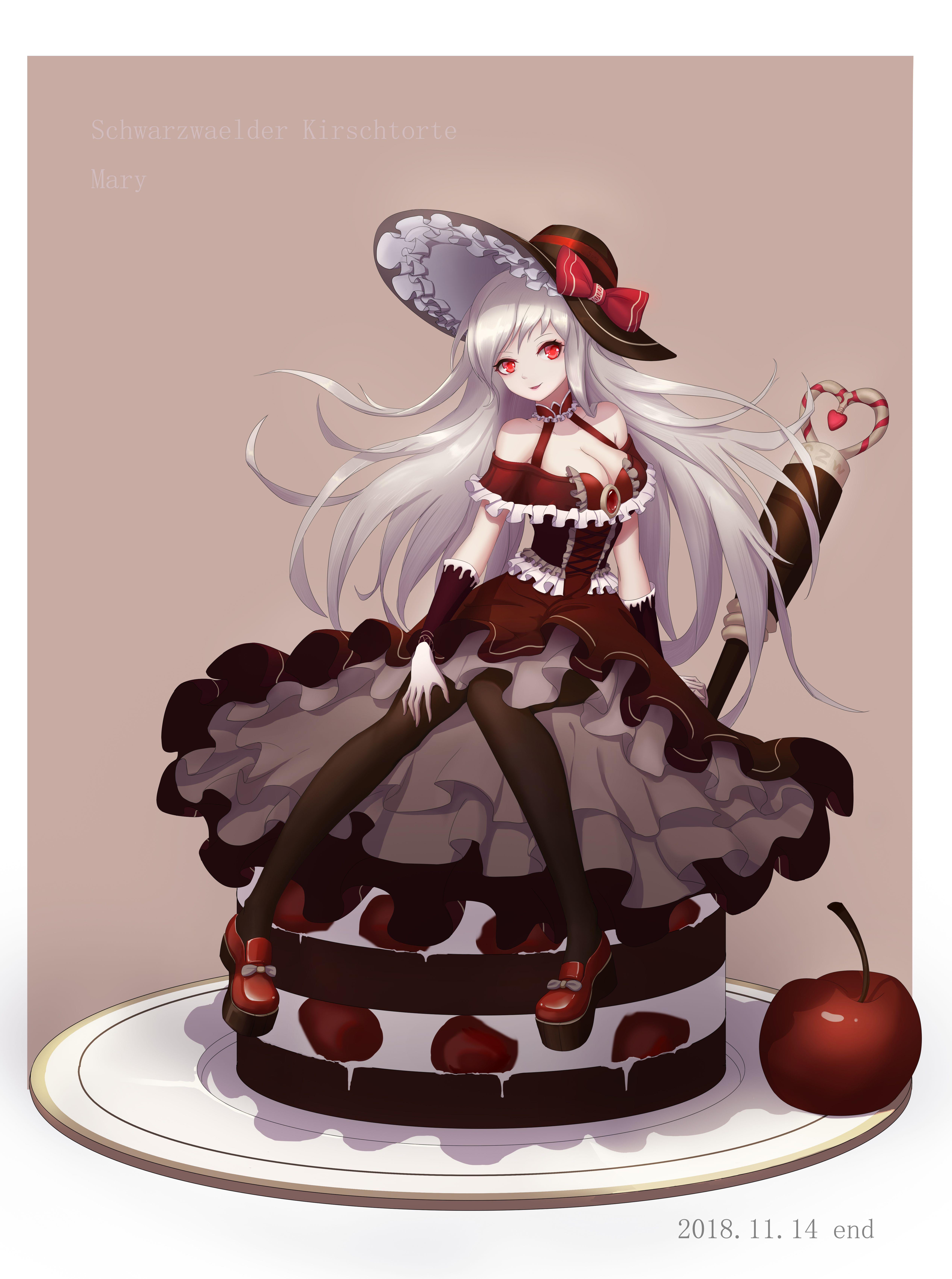 Black Forest Cake (© 水二次方) Food fantasy, Game food