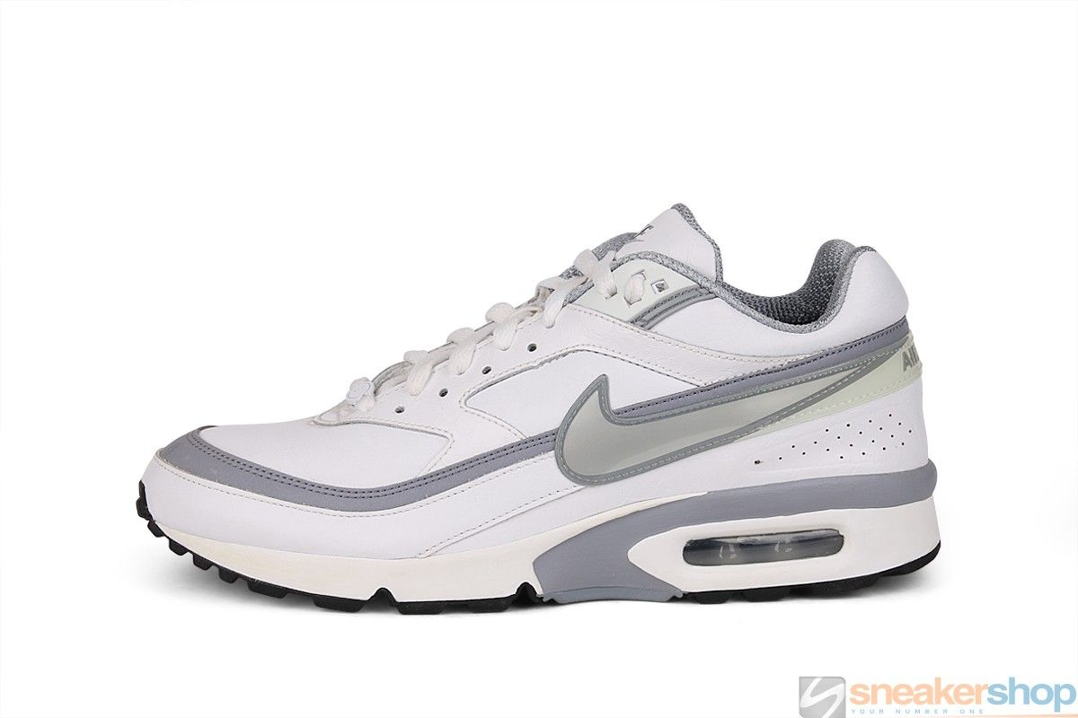 Nike Air Classic BW (White/Metallic Silver-Stealth-Black) | 309210-109