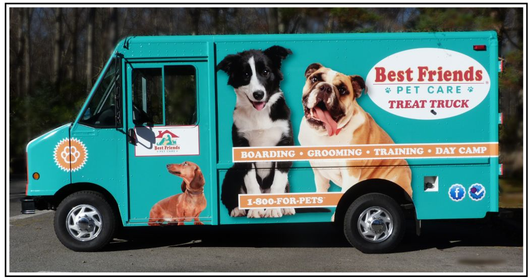 Visit The Doggy Treattruck Best Friends Pets Pet Care Pet Boarding