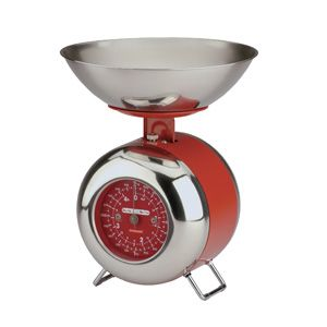 Red Capsule Scales By Typhoon Modern Kitchen Scales Kitchen Scale Kitchen