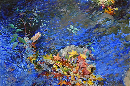 Serendipity by Michael Sloan was selected as Outstanding Acrylic in the August 2013 BoldBrush Painting Competition.