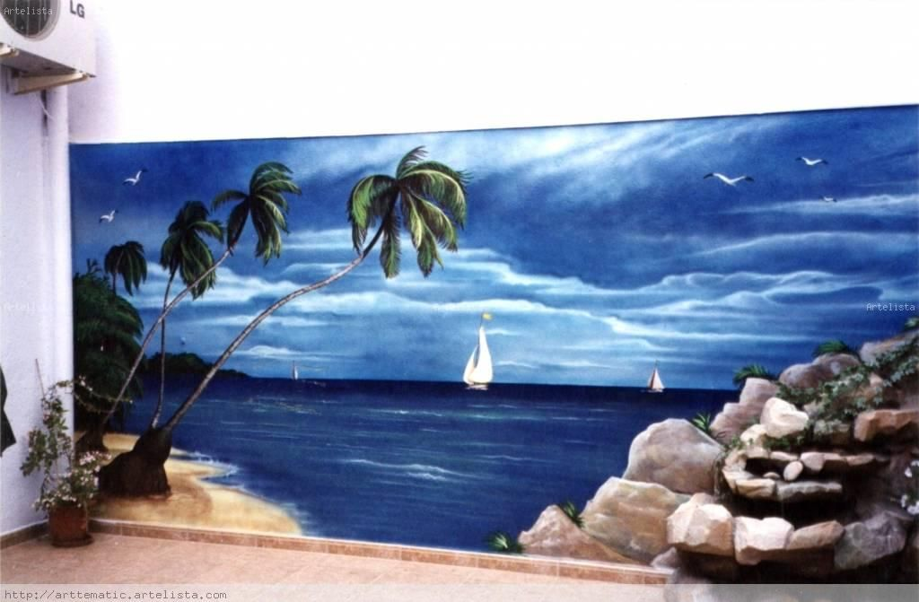 Resultados De La Búsqueda De Imágenes Paisajes Para Pintar En La Pared Painting Image Art
