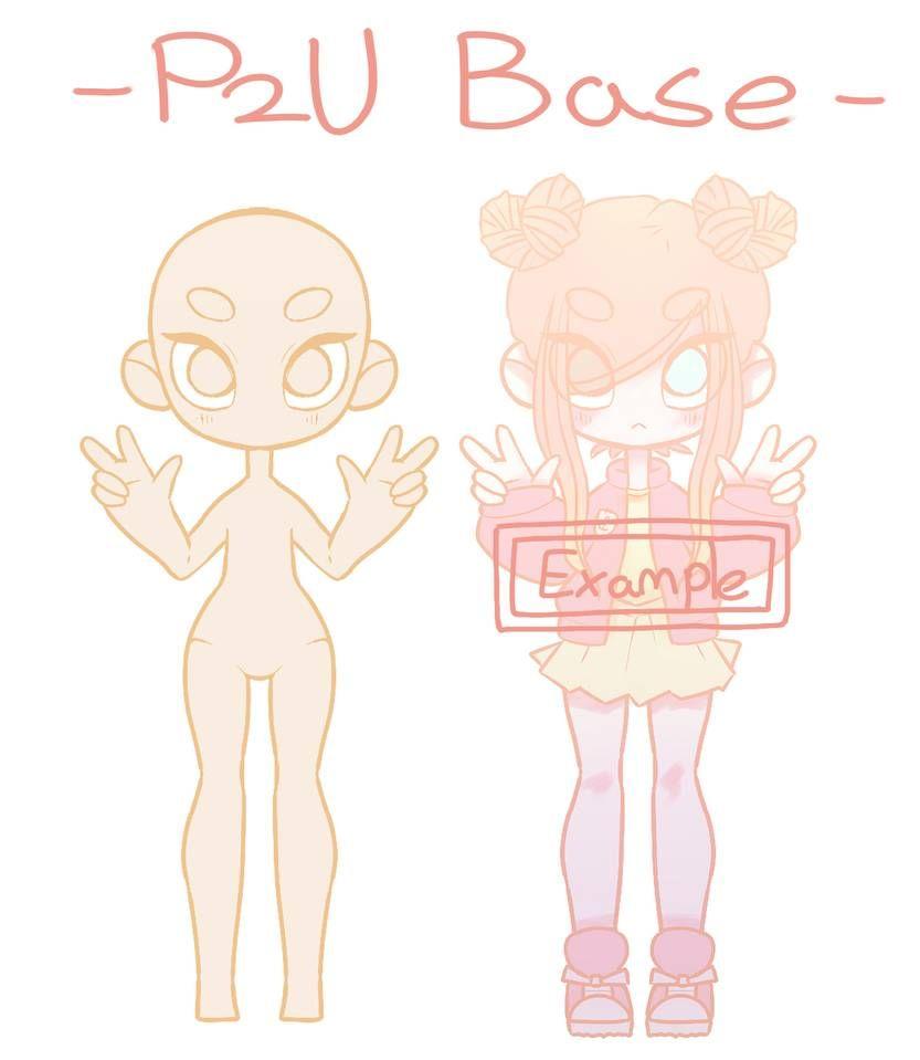 Base By Ryxner Drawing Base Drawing Meme Anime Drawing Styles