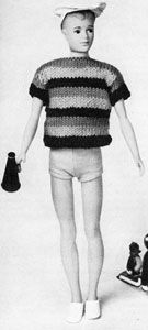 Striped polo shirt no 782 doll clothes pattern free 782 doll clothes pattern free knitting patterns dt1010fo