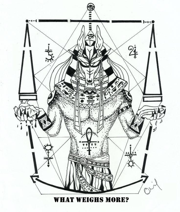 Pin By Wi Su On Anubis Niesamowite Tatuaze Pomysly Na Tatuaz