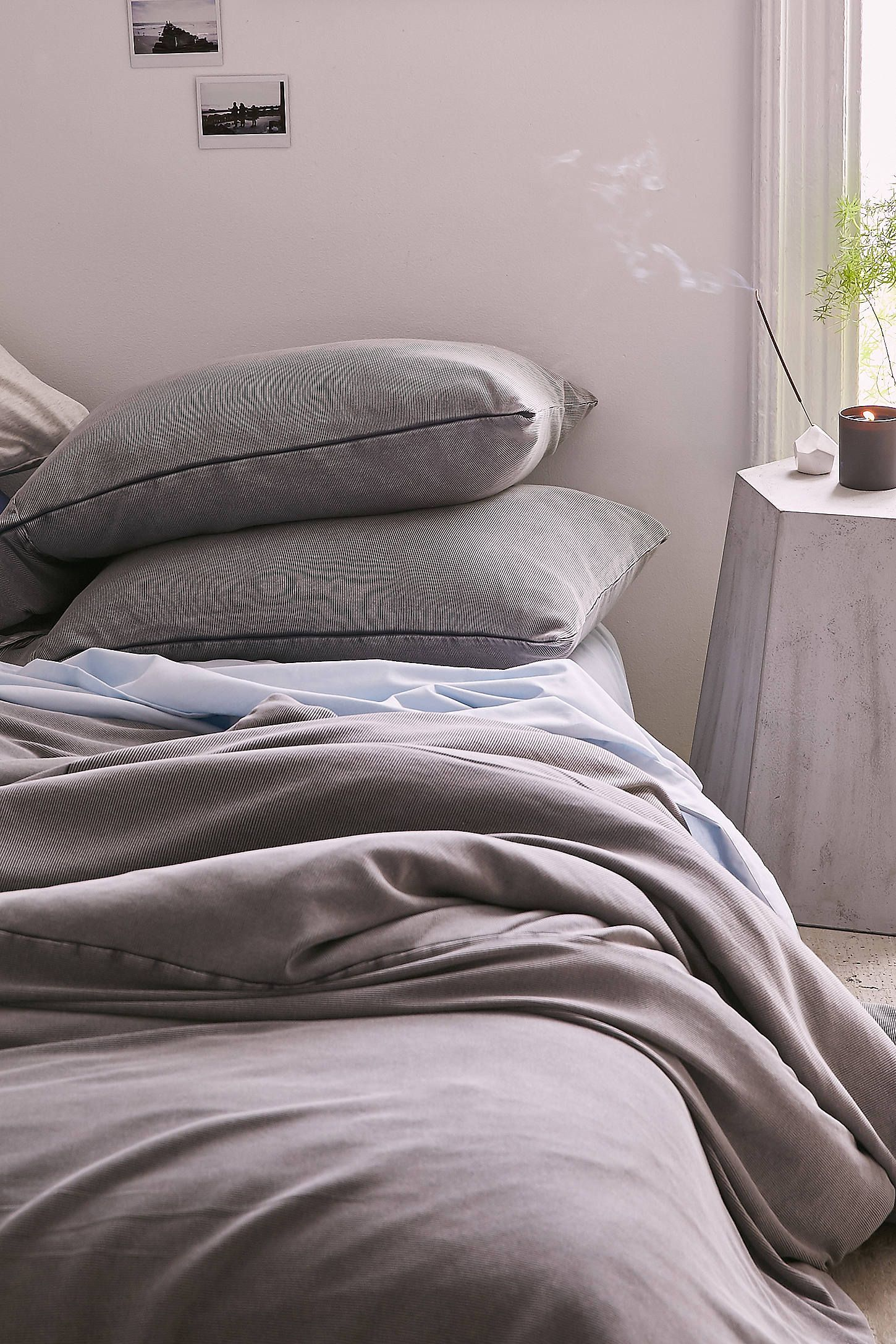 Shop Faded Ribbed Jersey Comforter at Urban Outfitters today. We carry all the latest styles, colors and brands for you to choose from right here.