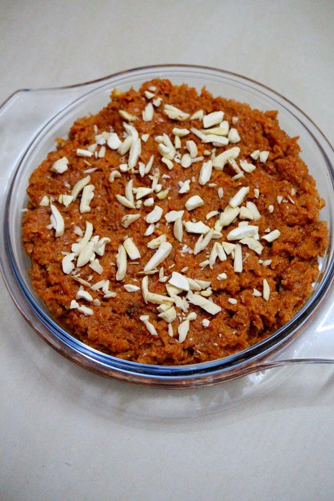 Gajar Ka Halwa With Milkmaid Or Condensed Milk Carrot Halwa With Condensed Milk Gajar Ka Halwa Sweets Recipes Indian Desserts