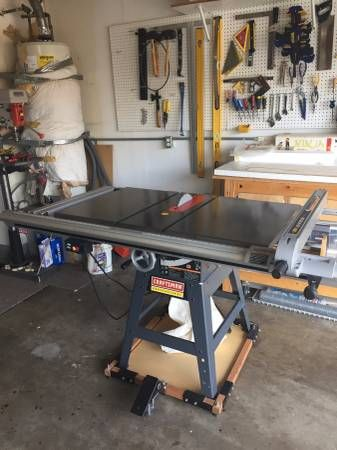 Noob Here Looking For A Table Saw Here Is A Craftsman 10 3hp Saw