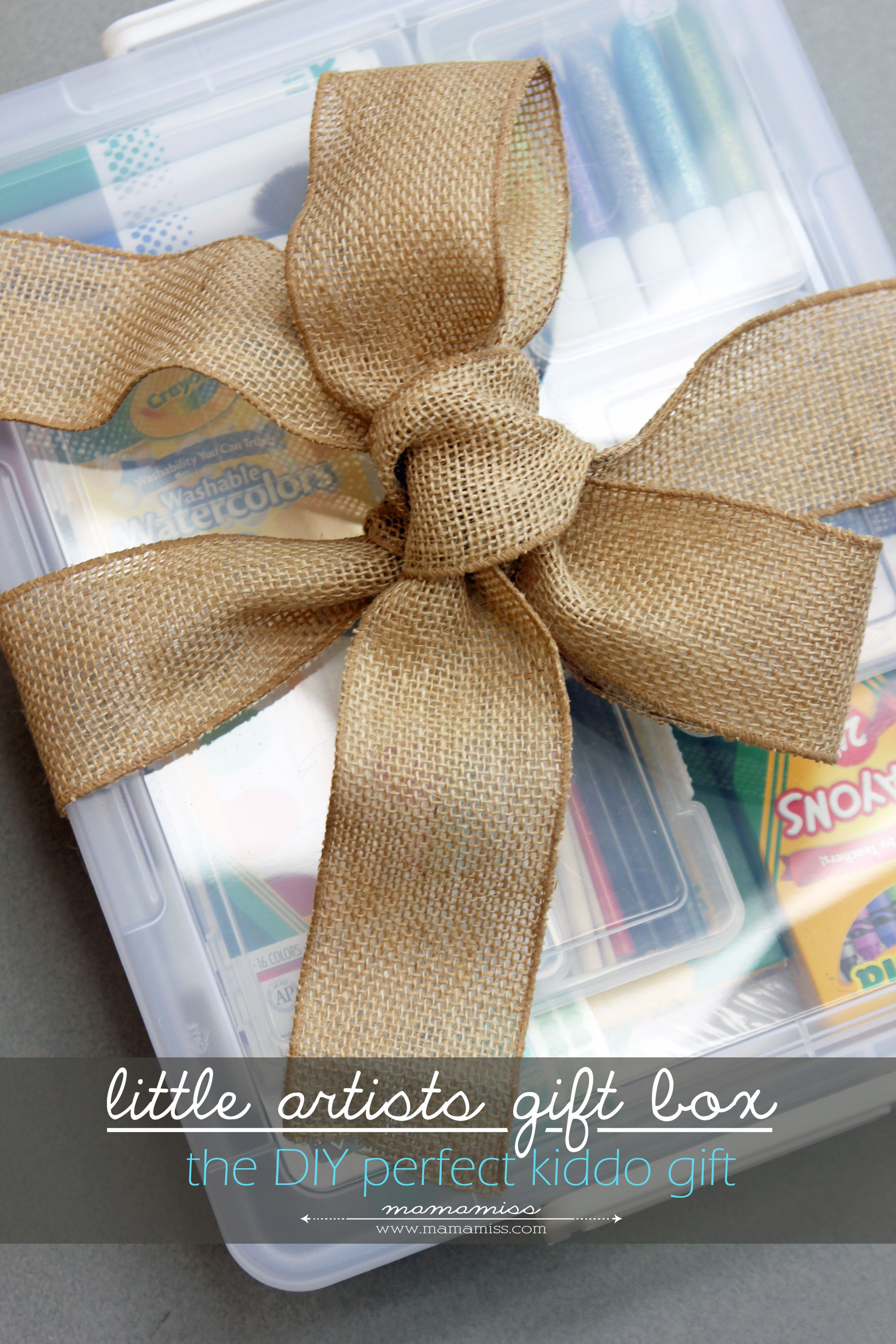 Diy Little Artists Gift Box