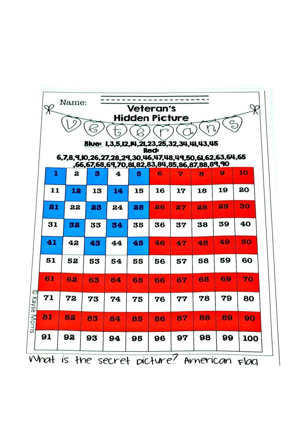 Veterans Day Activities For Elementary Students