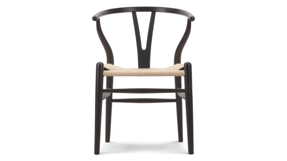 Wishbone Chair Wishbone Chair, Black in 2020 Wishbone