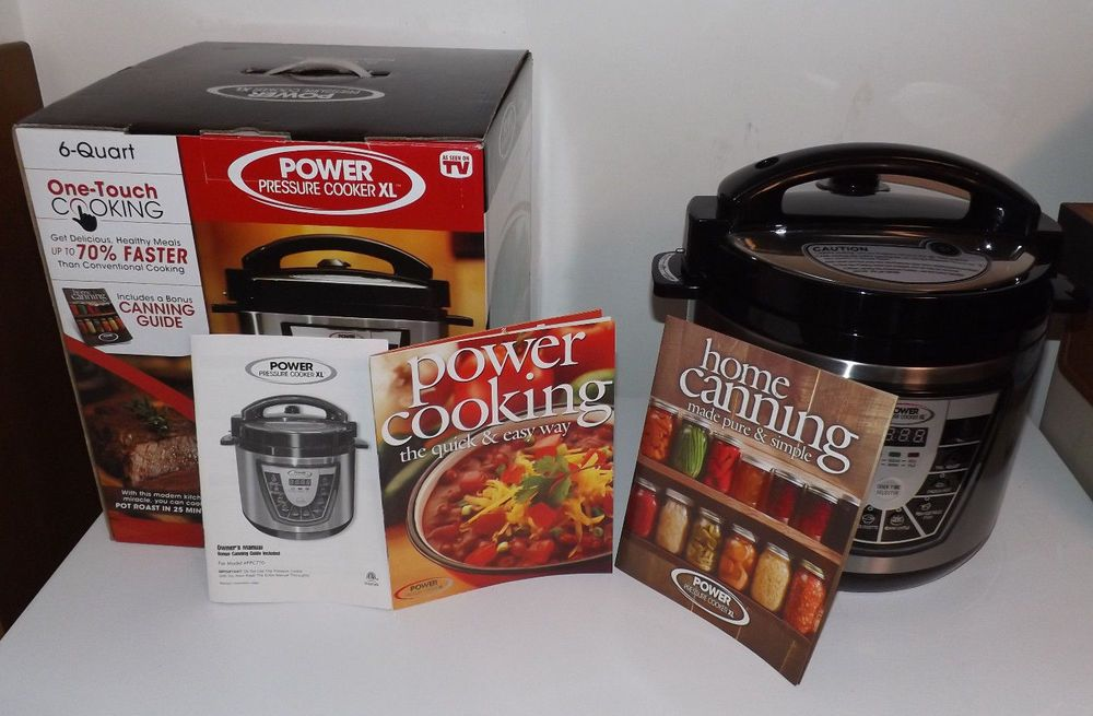 Pressure Cooker Xl 6 Quart Used Twice Fabulous In Original Box W Rack
