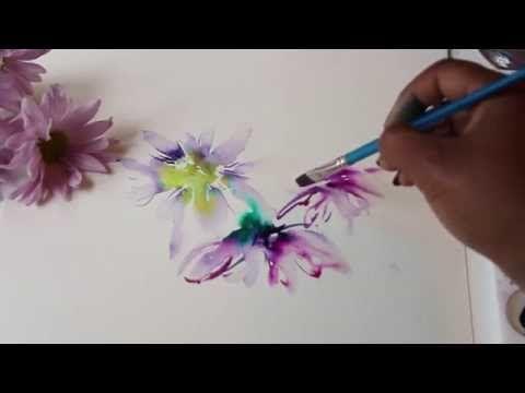 How To Find Your Style Watercolor Painting Talk Through Youtube Blumenzeichnung Wie Man Blumen Malt Blumenzeichnungen