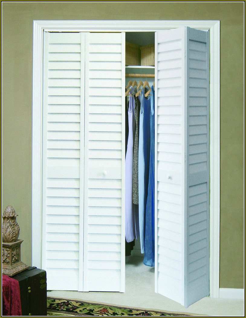 Attractive Home Depot Folding Closet Doors | ... Home Improvements Refference | Bifold Mirrored  Closet