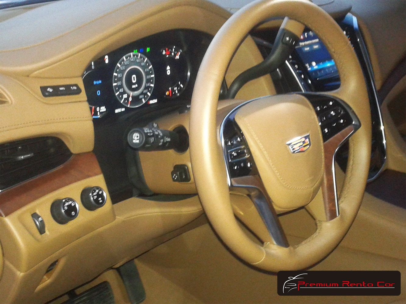 Interior del cadillac escalade platinum 2016 color blanco 2016 cadillac escalade platinum white