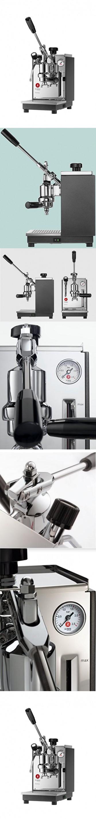 Olympia Cremina Espresso Machine Made In Switzerland Gray Espresso Machine Espresso Made In Switzerland