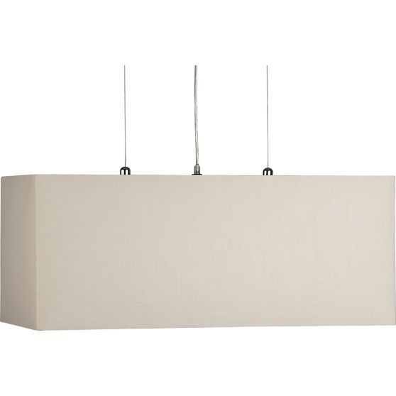 Dining Room - Finley Wheat Rectangle Pendant Lamp in ...