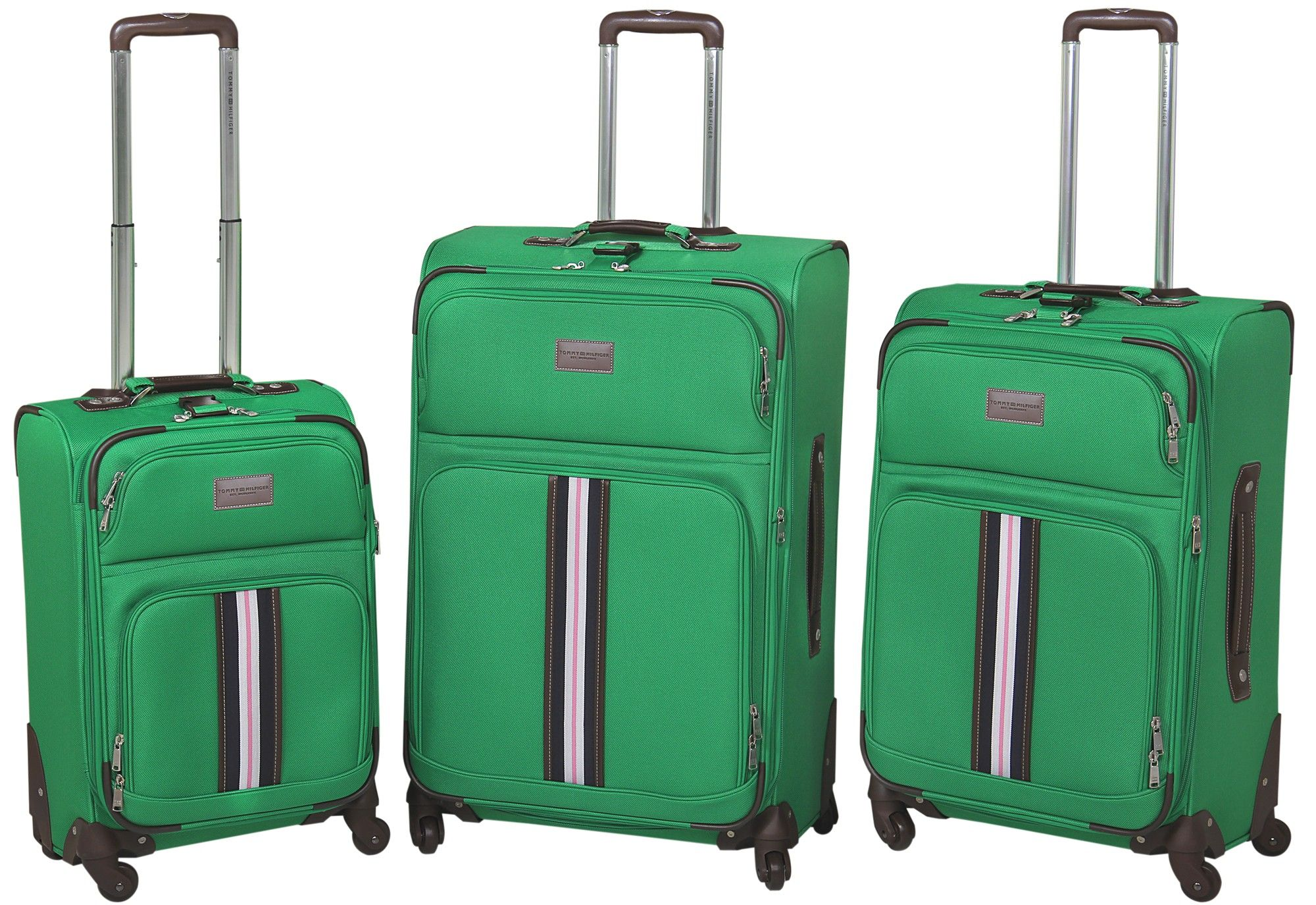 f6f89af03e93 The Tommy Hilfiger Classic Collection of luggage, shown in green ...