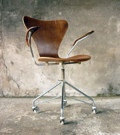 Desk Chair by Arne Jacobsen, 1955