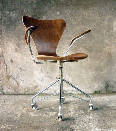 Desk Chair by Arne Jacobsen, 1955