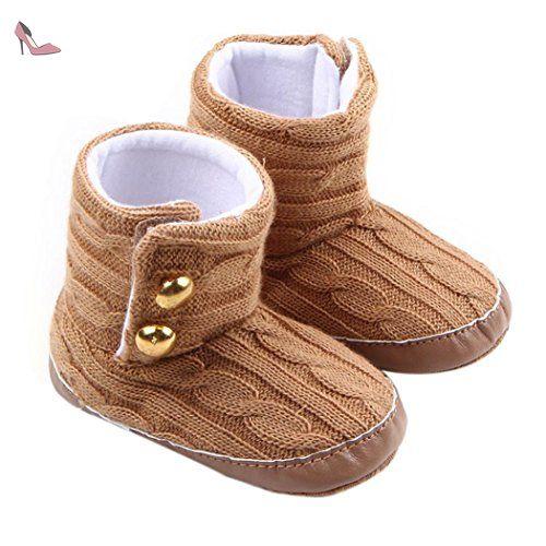 b95d88bf07e58 Ouneed® Bebe Naissance Chausson Boots Premier Pas(12