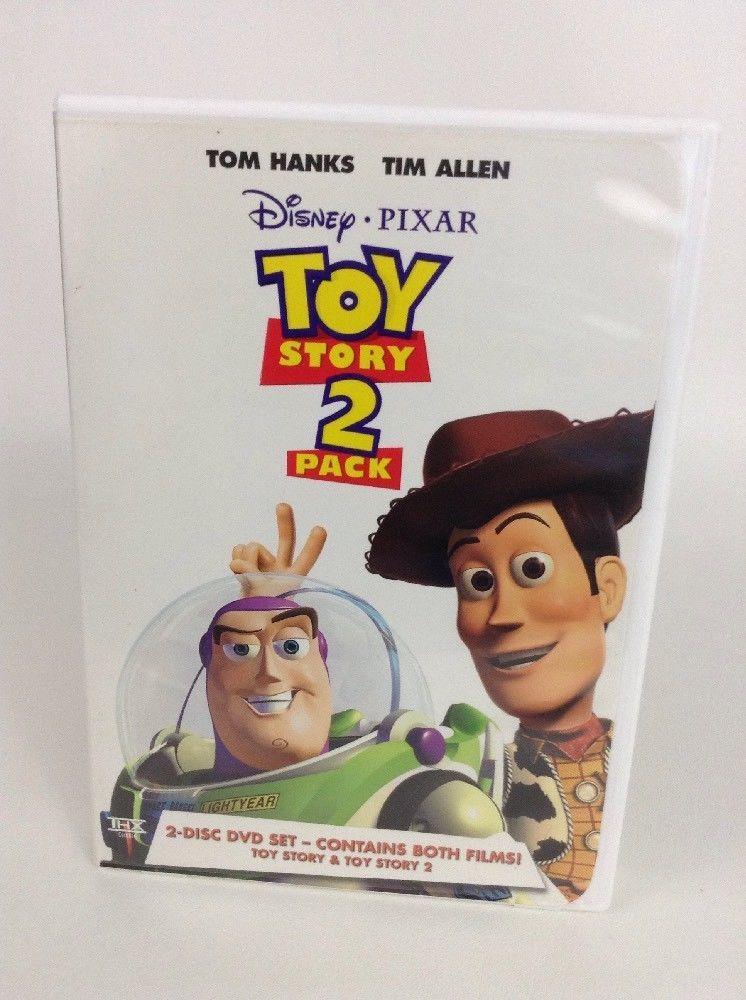Disney Pixar Toy Story 2 Pack Dvd Movie Set Toy Story Toy Story 2 Disney Pixar Toys Toy Story Dvd Movies