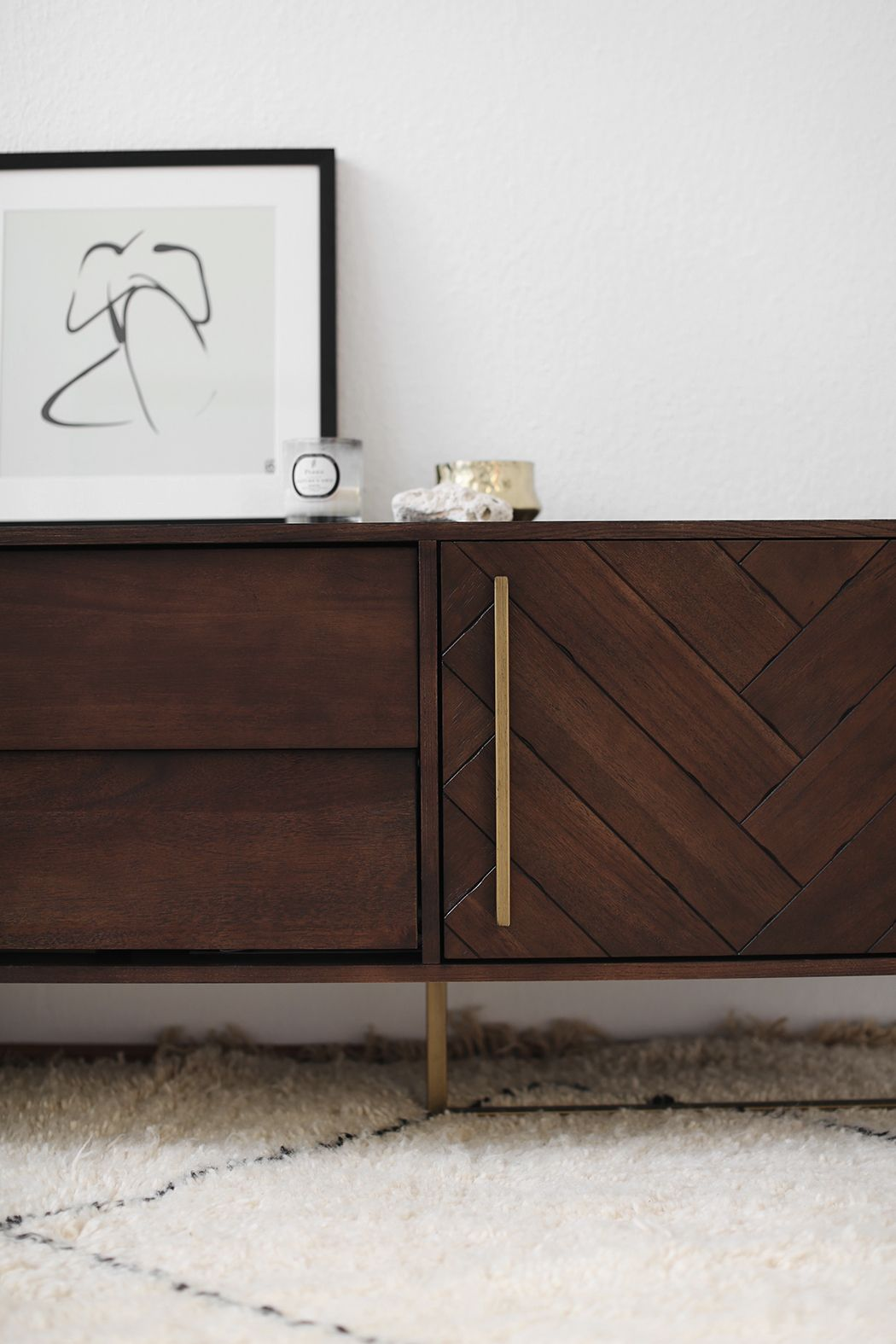 home story office details with dutchbone sideboard westwing art