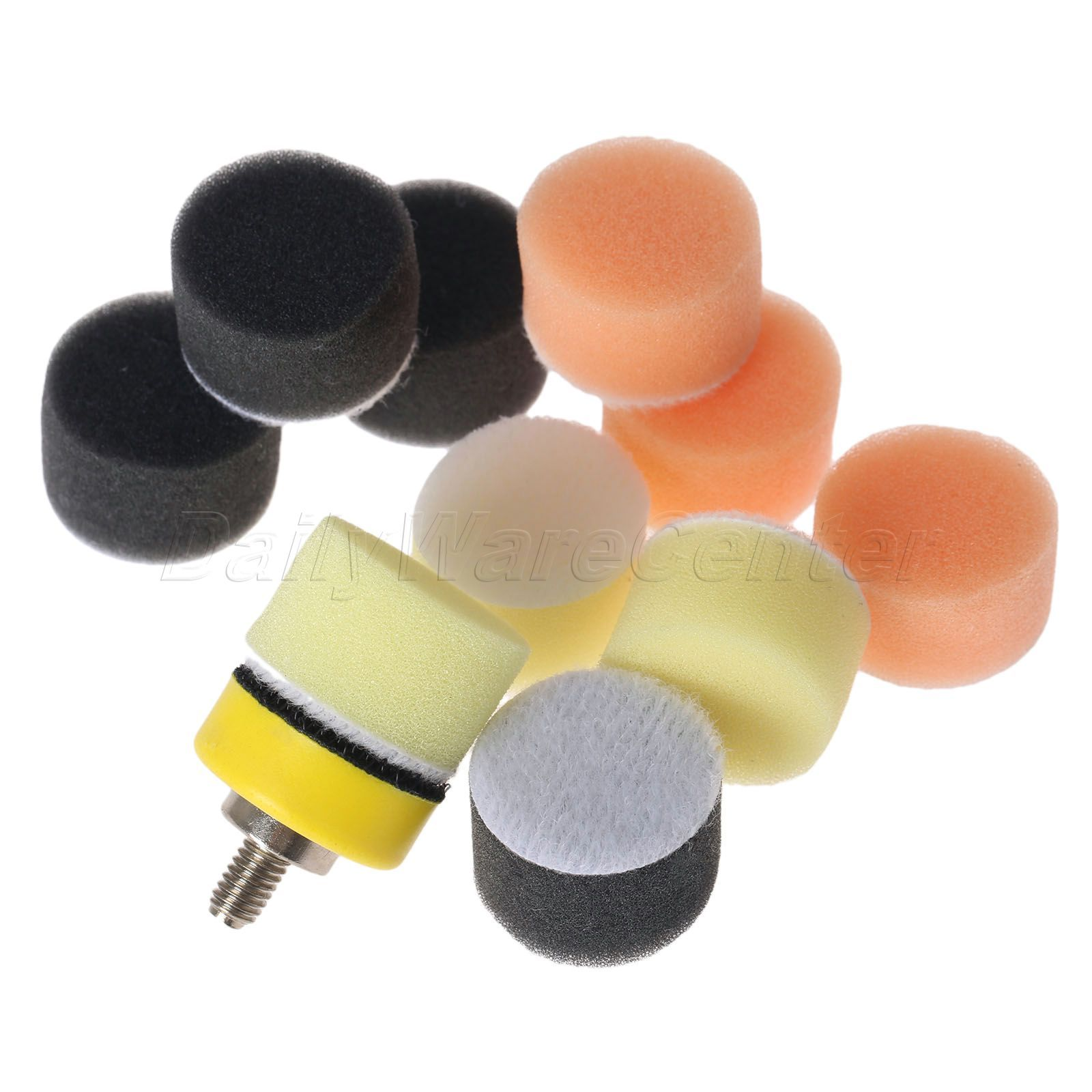 150pcs 1 25mm Sponge Buff Polishing Pad Kit Car Polisher M6 5pcs Automotive Wiring Harness Terminal Removal Tools Maintenance Backer