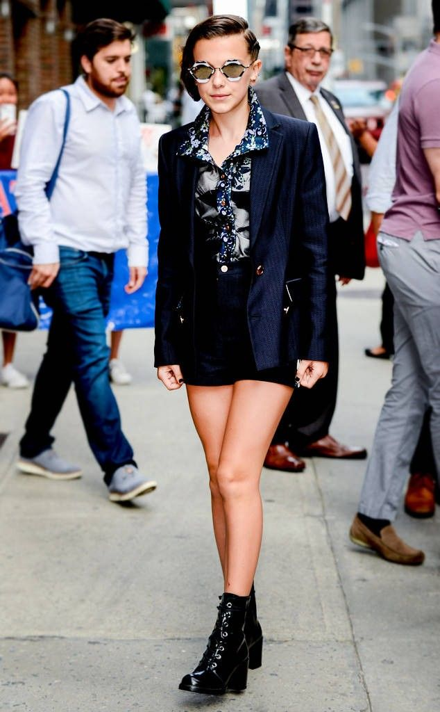 594025130e65 Millie Bobby Brown s outfit