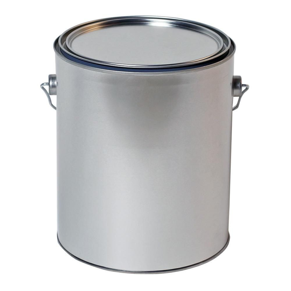 Behr 1 Gal Metal Paint Bucket And Lid 96601 The Home Depot Paint Buckets Metal Construction Paint Cans