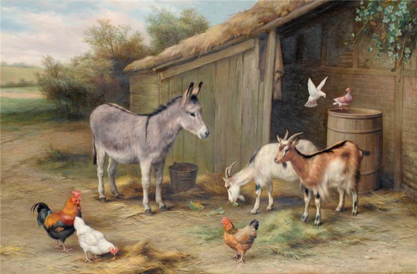 оно картинка скотный двор домашние животные приложении уже