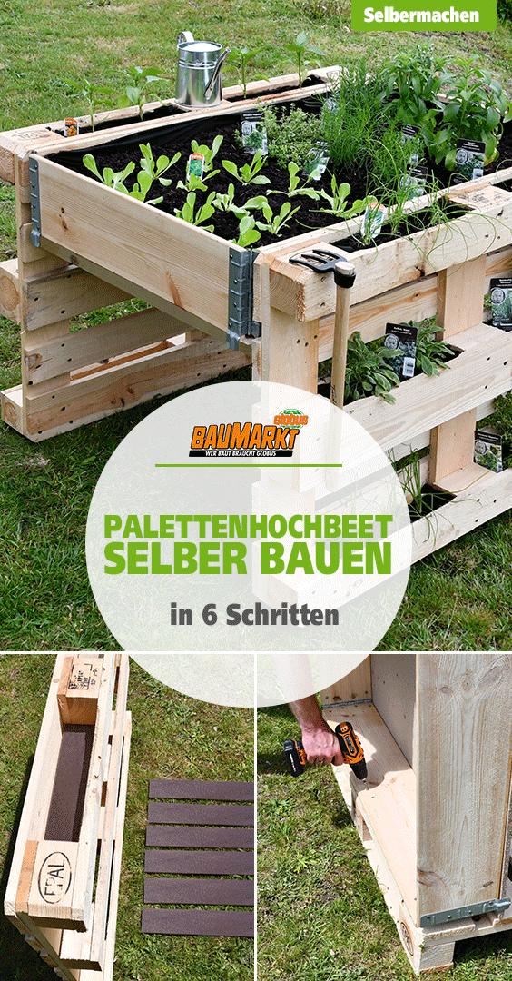 Palettenhochbeet Selber Bauen Pallet Furniture Outdoor Garden Furniture Garten