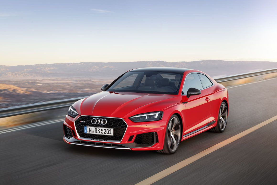 Audi Unveiled Rs 5 Coupe In India Audi Rs5 Rs5 Coupe 4 Door Sports Cars