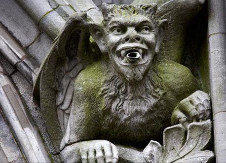 Gargoyles St Colmans Cathedral Cork Ireland Themodernsybarite 458x330 Pixels