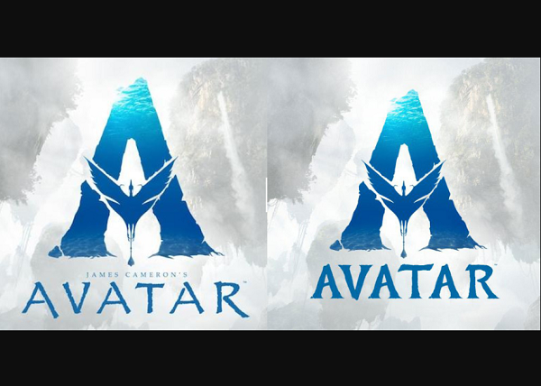 James Cameron S Name Has Also Been Removed In The New Wordmark Avatar Old Logo Papyrus