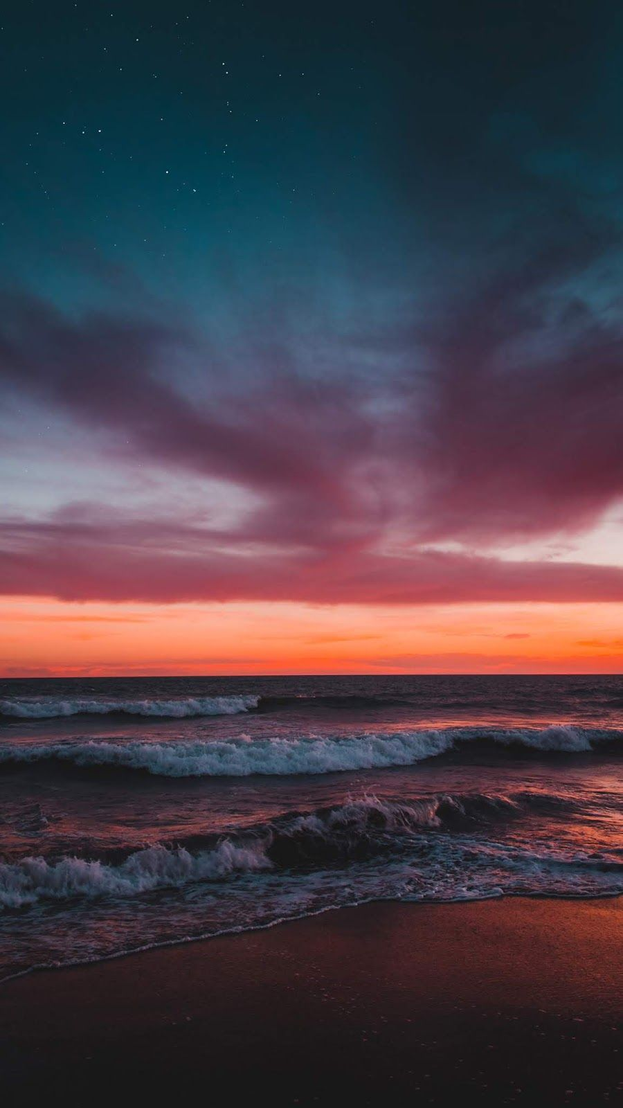 Sunset On The Beach Wallpaper Iphone Android Background Followme Sunset Wallpaper Beach Wallpaper Beach Wallpaper Iphone