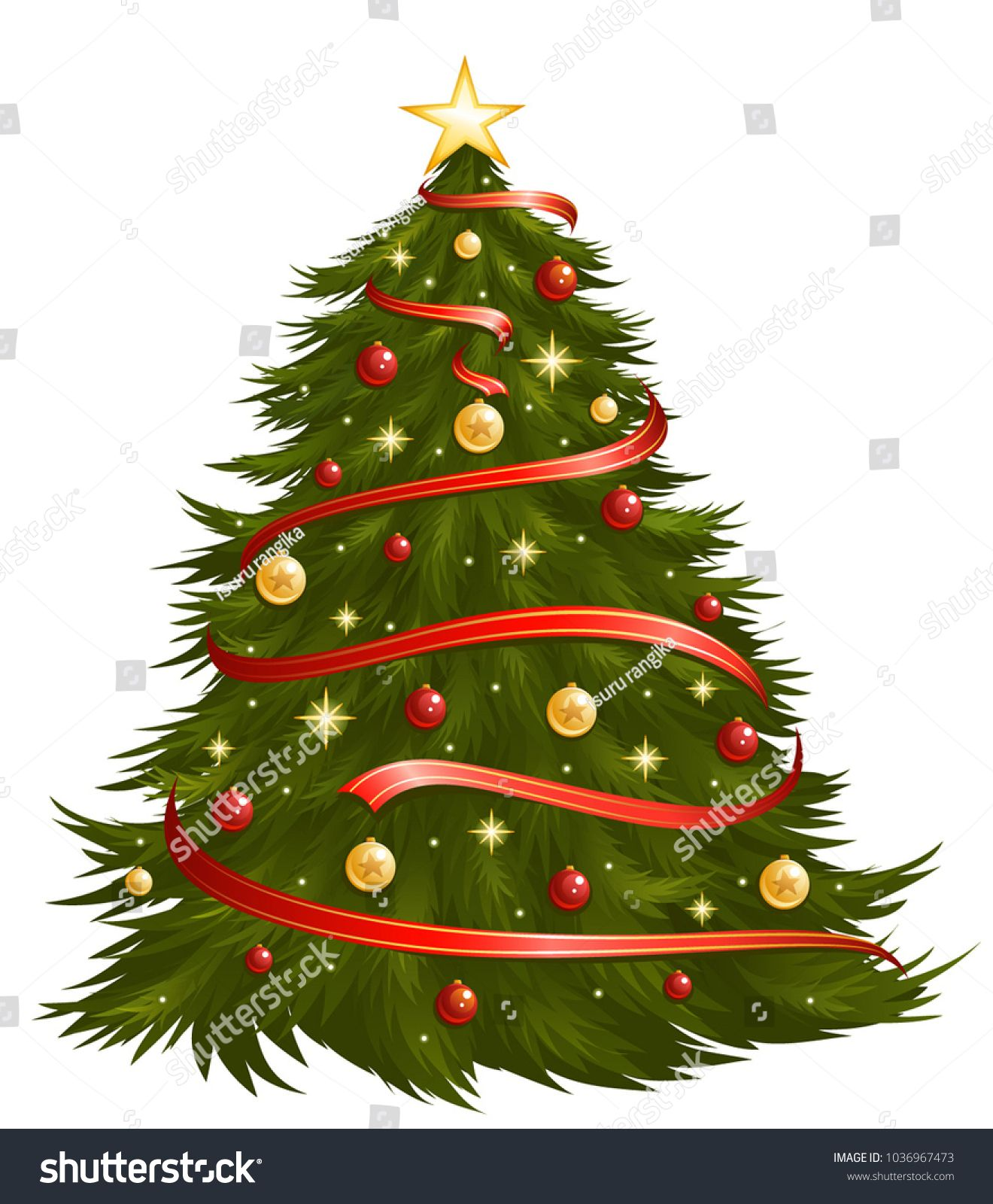 Christmas Tree Vector Christmas Tree Vector Christmas Tree Clipart Christmas Images Free Christmas Images
