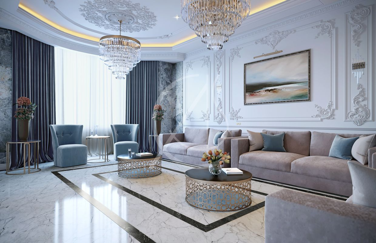 Luxury Neoclassical Palace Interior Design in 2020 (With ...
