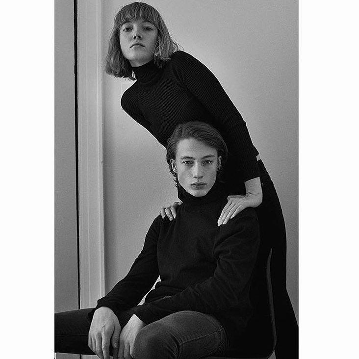 Beautiful @louschoof & @nilsschoof shot by @hansneumann  London 2016 by c__l__o