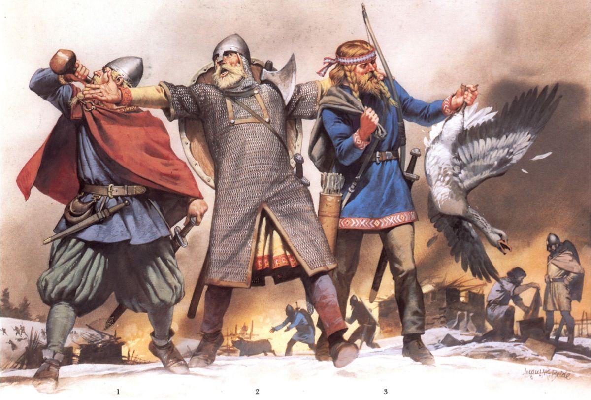 9th And 10th Century Viking Warriors Viking Age Norse Viking History