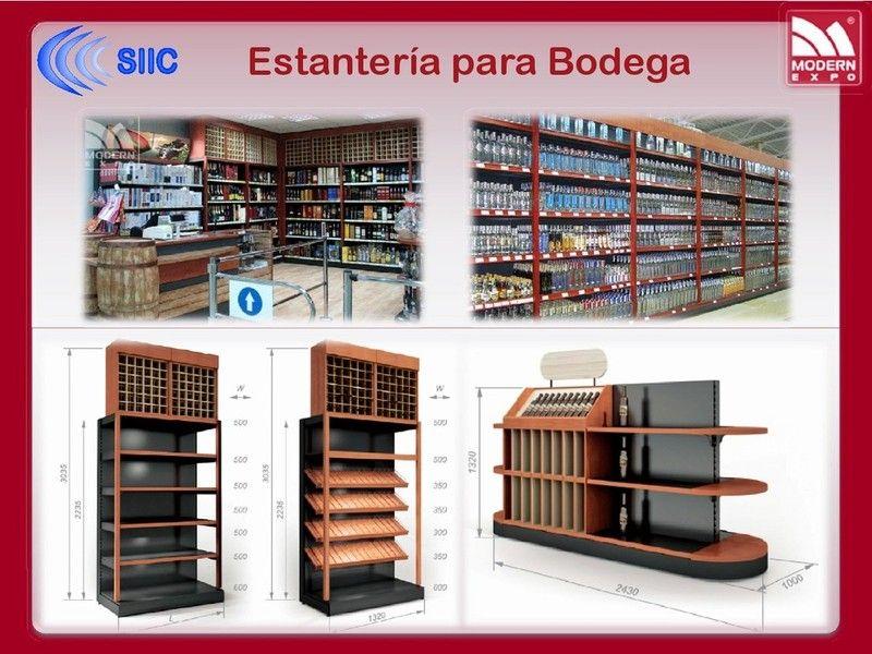 Resultado de imagen para mobiliario supermercado tienda - Estantes para bodegas ...