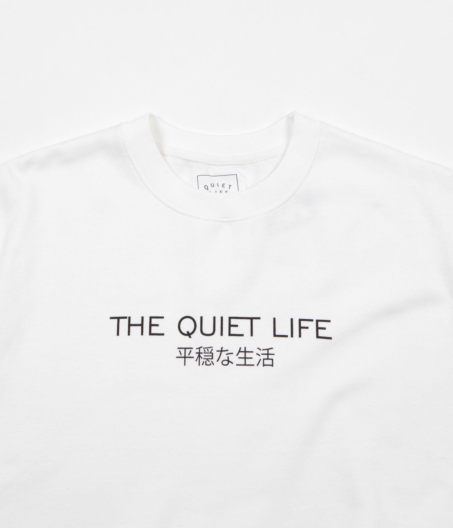 The Quiet Life Japan Crewneck Sweatshirt - White