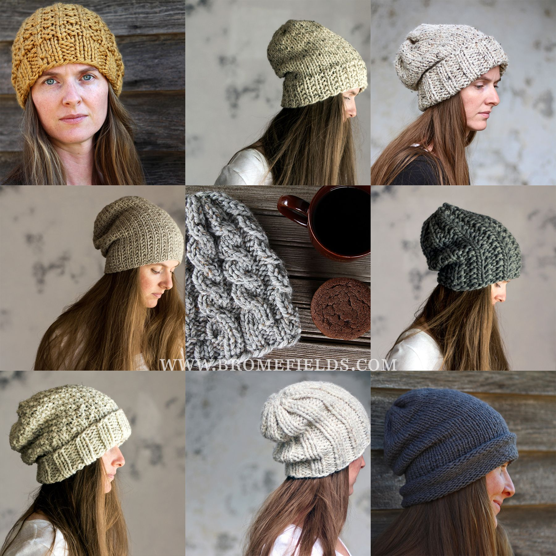 $15 pattern download Top 10 Hat Knitting Patterns by Brome Fields ...