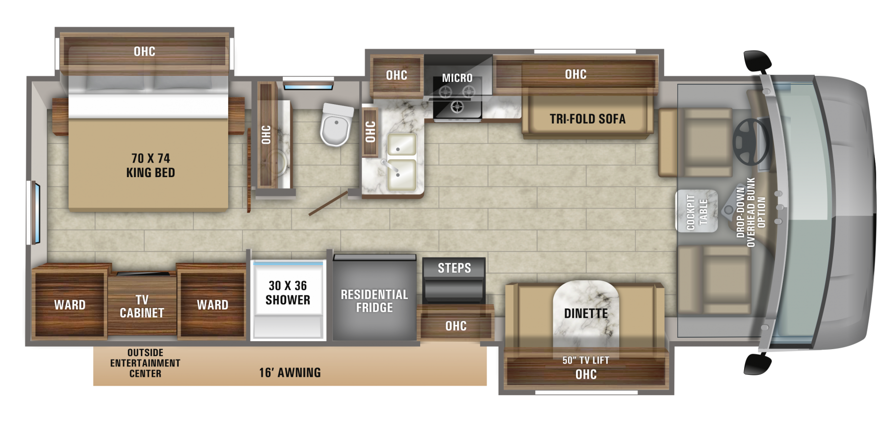 2020 Precept 31ul Jayco Inc In 2020 Floor Plans Luxury